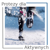 Proteza nogi dla osoby aktywnej