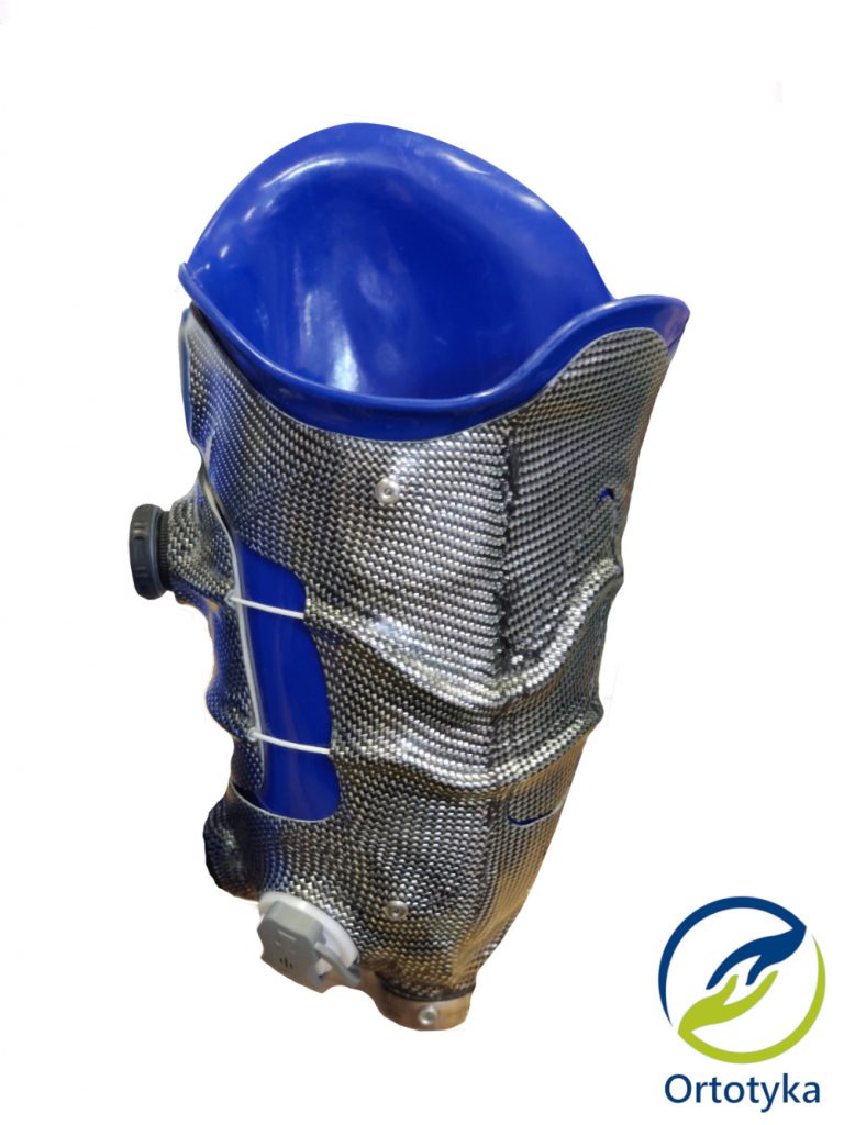 lej protezowy proteza uda węglowy