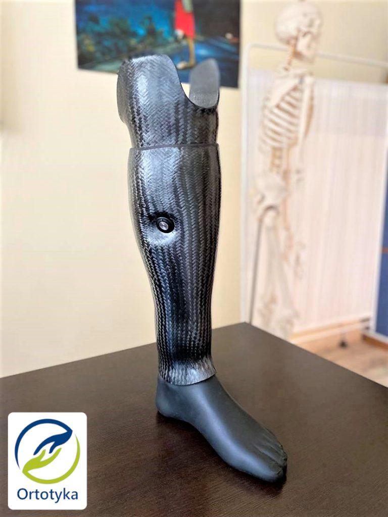 proteza węglowa nogi obudowa i cover